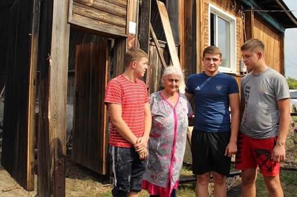 Пожар в жилом доме произошел в конце августа