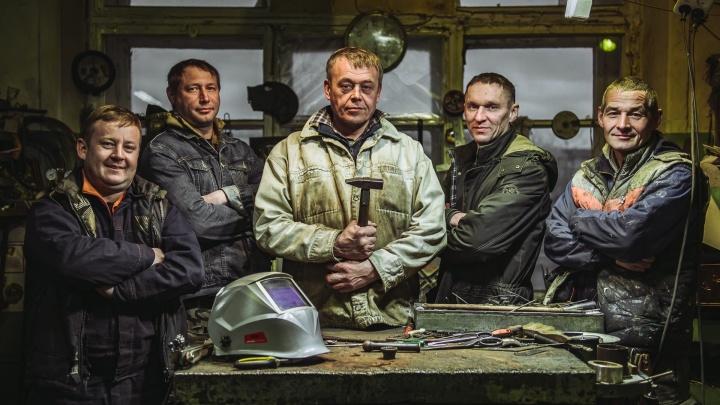 Их стихия— металл: в Архангельске делают необычные скульптуры, которые хотят покупать в Катаре