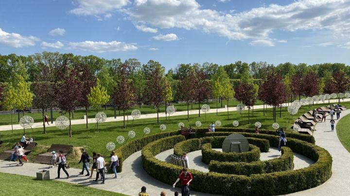 Как выглядит парк «Краснодар» весной. Пятничный фоторепортаж
