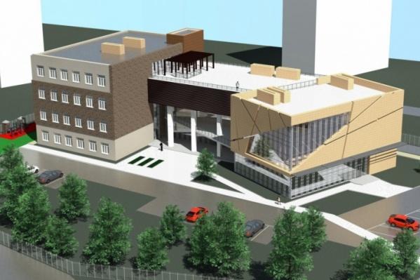 Будущий Еврейский центр будет выглядеть примерно так
