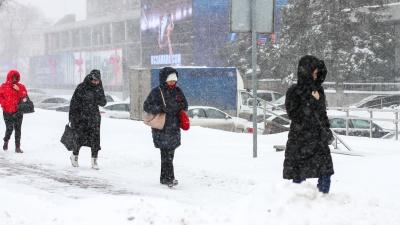 В Самарской области похолодает до -33градусов