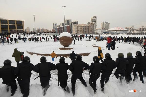 Далеко не все участники протеста были сторонниками Алексея Навального