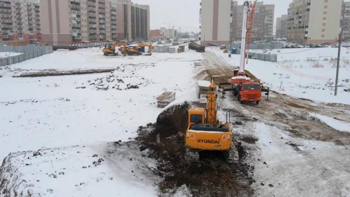В Южном городе начали строить мост через Подстепновку