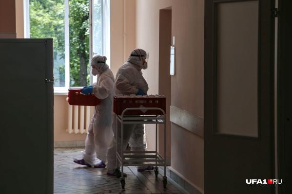 Ковид-госпитали в Башкирии переполнены