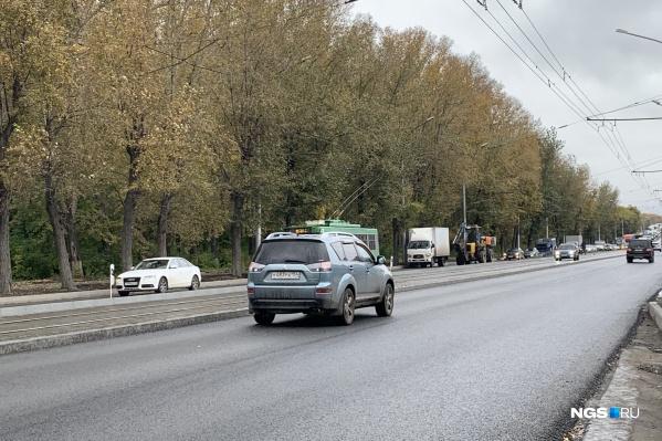 До конца ремонта дорог еще ох как далеко