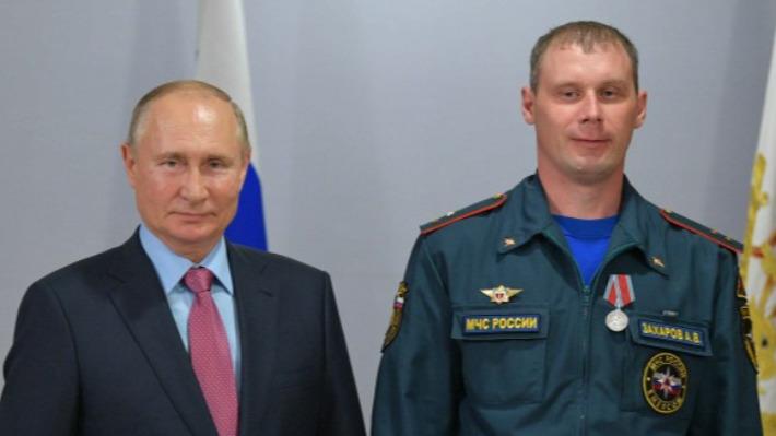 Путин наградил тюменца за спасение города от взрыва военных складов