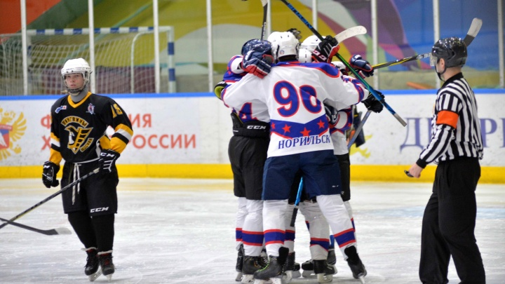 В Норильске завершился юношеский хоккейный турнир «Кубок Норникеля»