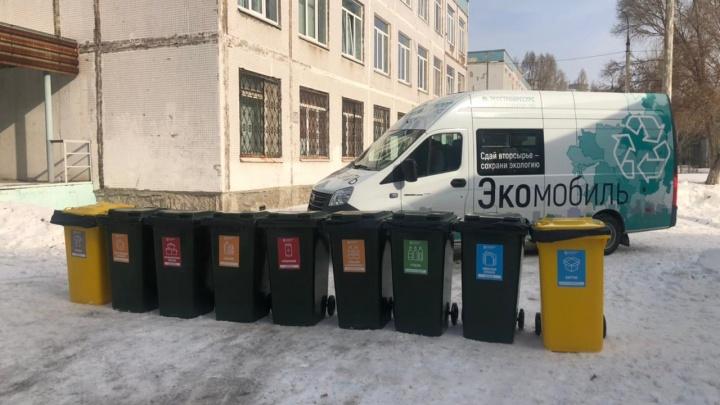 В Самаре запустили спецтранспорт для раздельного сбора отходов