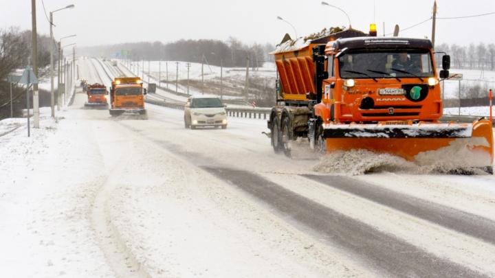Теплый фронт хулиганит: на Волгоградскую область вновь надвигаются снегопады