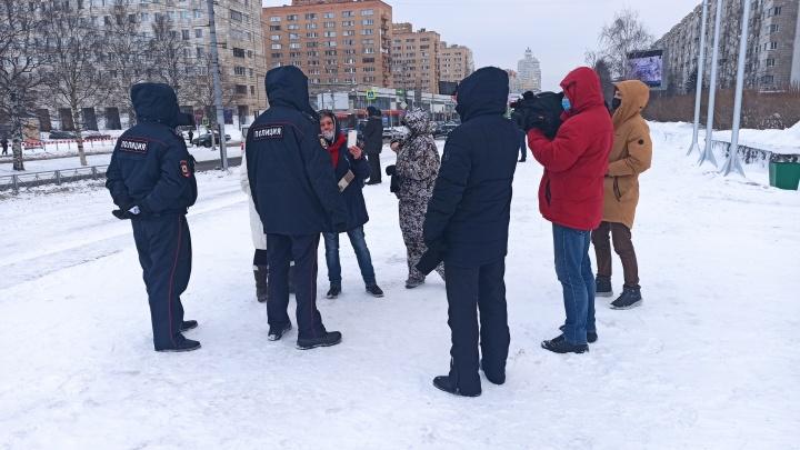 В Архангельске началась несогласованная акция сторонников Алексея Навального