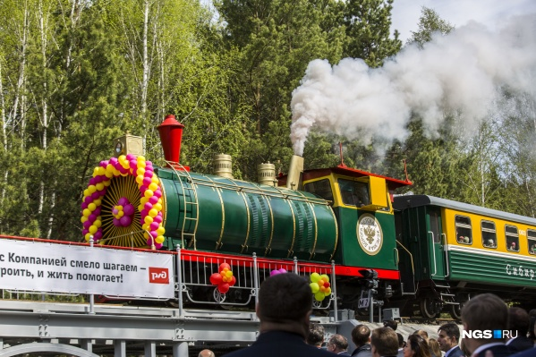 1 июня начнет работать детская железная дорога
