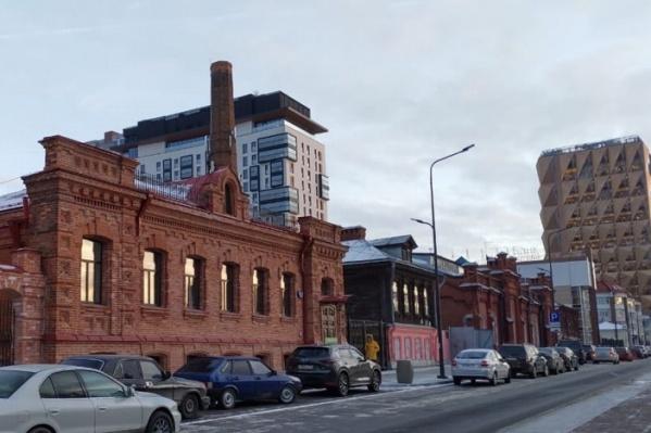 Старинный особняк на Горького, 39 входит в список объектов культурного наследия регионального значения