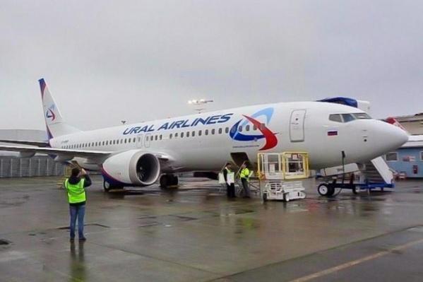 Всего авиакомпания закупила 14 таких самолетов