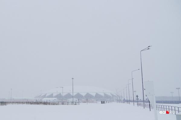 Стадион и тренировочные площадки в Самаре построили к чемпионату мира по футболу