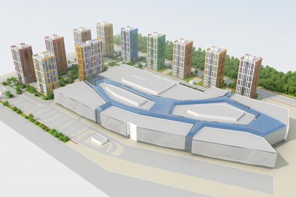 Новый квартал будет рассчитан на 140 тысяч квадратных метров жилья