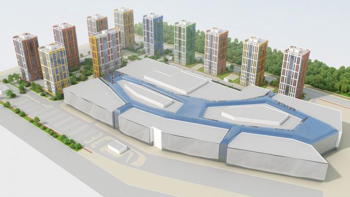 Рядом с гигантским Veer Mall построят одиннадцать жилых высоток