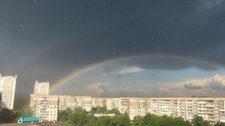 В Новокузнецке прошел сильный град. Синоптики назвали причины