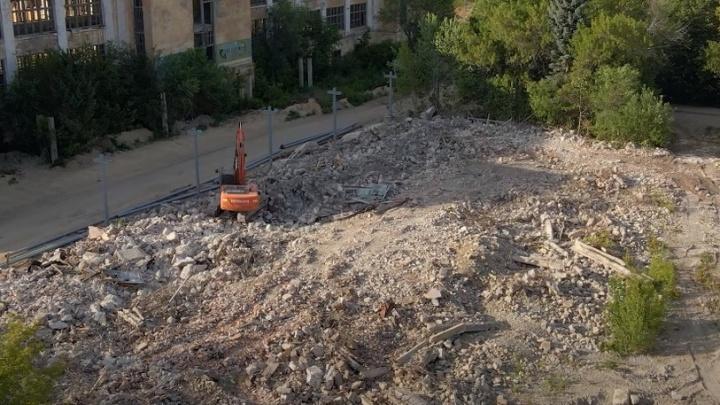 С видом на Волгу: в Самаре начали расчищать завалы для строительства ЖК на территории ЗИМа