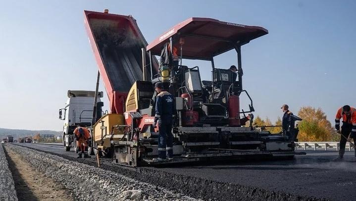 «Уже видно из космоса»: строители скоростного автобана Москва — Екатеринбург полностью пробили створ трассы
