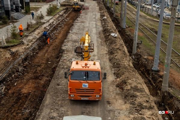 Скоро на дублеры перенаправят автомобильное движение с основного хода Ново-Садовой