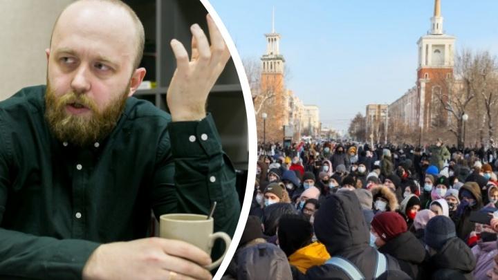 Красноярский экоактивист объявил сбор денег на оплату штрафов участников субботнего шествия