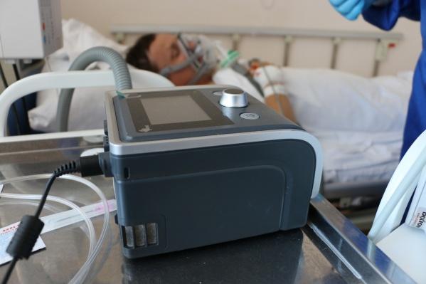 Кислород необходим пациентам, у которых возникают проблемы с дыханием