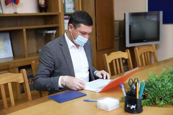 Евгений Первышов будет работать до выборов 19 сентября