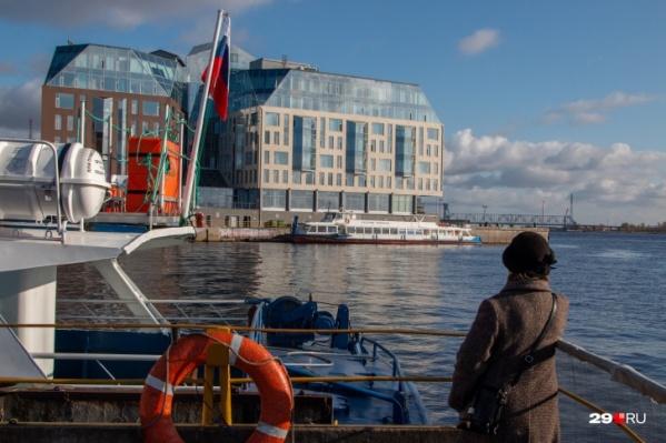 Теперь архангельским пароходством будут руководить из Сибири