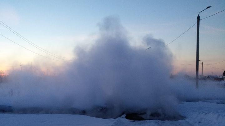 В 30-градусный мороз в Челябинске без тепла остались больше десятка домов, школа и детсад