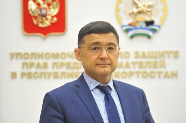 Флюр Асадуллин — уполномоченный по защите прав предпринимателей в Башкирии