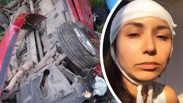 «Никогда так не делайте»: женщина, выжившая в ДТП в Ярославской области, рассказала, как всё было