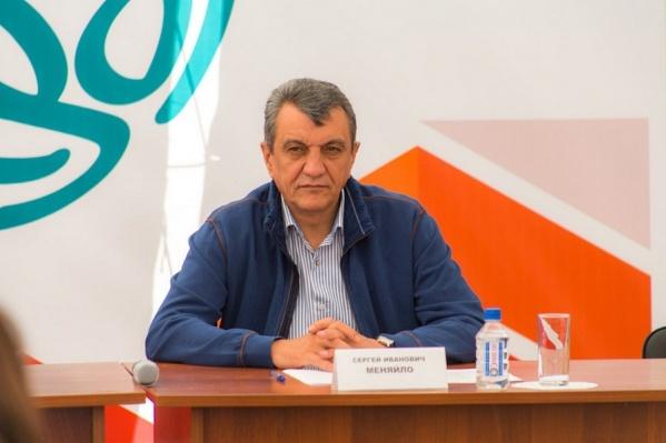 Сергей Меняйло не раз бывал в Красноярском крае с проверками и поручениями