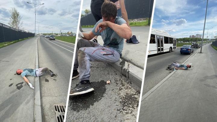 «Оторваны фаланги»: в полиции прокомментировали видео инцидента со «стрельбой» на Московском шоссе
