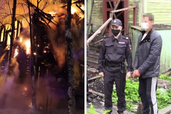 В новом пожаре заподозрили мужчину, который до этого уже признавался в совершении шести поджогов