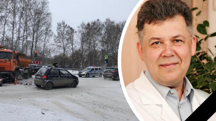 В ДТП со снегоуборочной машиной погиб тюменский врач