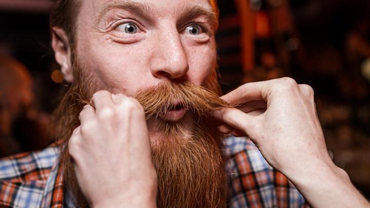 В Екатеринбурге брутальные мужчины померились бородами и усами. Фоторепортаж с конкурса-тусовки