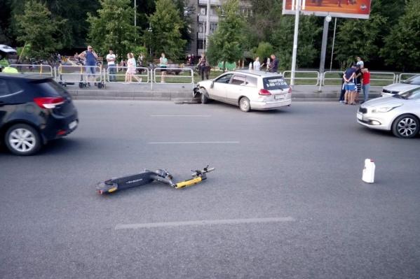 Полученные парнем травмы были настолько серьезными, что он практически сразу впал в кому