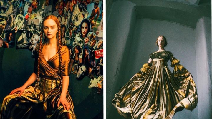 По мотивам произведений Рембрандта: в пермском ЦВЗ покажут платья художницы и модельера Елены Ткаченко