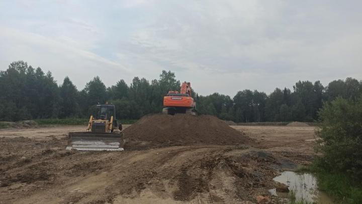 На территории природного заказника в Кузбассе началась стройка. Следком возбудил уголовное дело