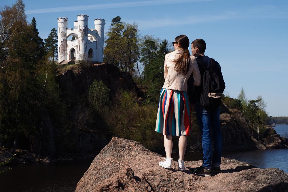 Остров Людвигштайн (остров мёртвых) в парке Монрепо<br><br>автор фото Михаил Огнев / «Фонтанка.ру» / архив<br>