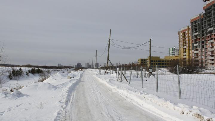 В Екатеринбурге для жителей новостроек проложат новую дорогу вдоль реки