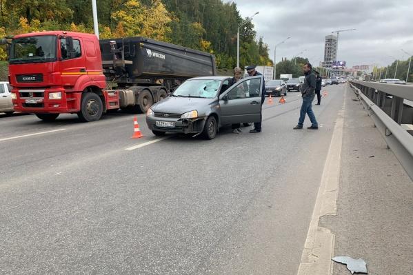 За рулем легковушки находилась 43-летняя женщина