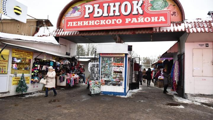В мэрии рассказали, что может появиться на месте проданного рынка Ленинского района