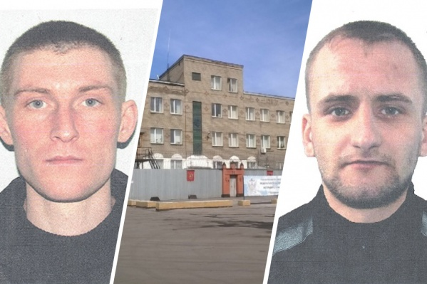 Слева на фото — Александр Горлов, справа — Виталий Козлов