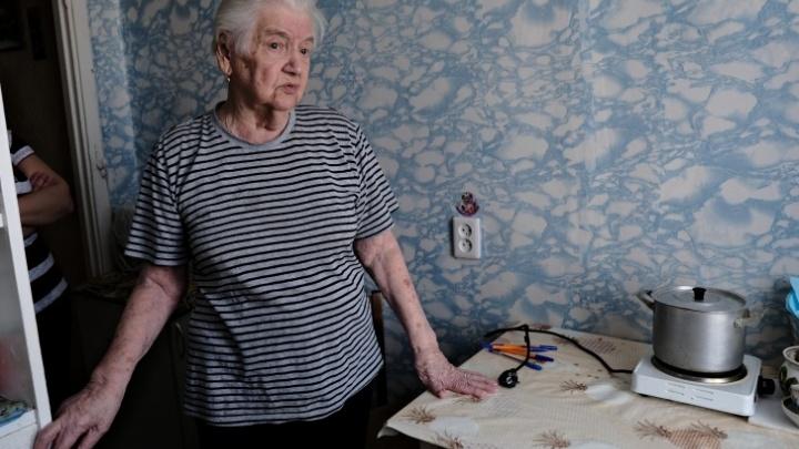 Проблему 92-летней челябинки-ветерана, 9месяцев прожившей без газа, решили после публикации 74.RU