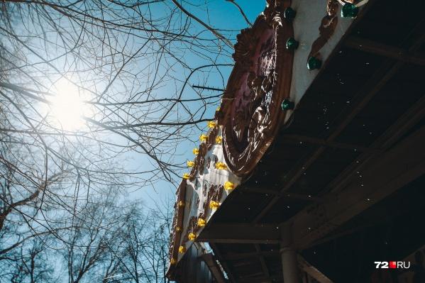 Весеннее солнце растопит лед