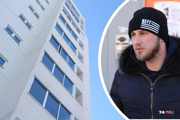 Попасть к себе в квартиру Дмитрий не может, новый хозяин сменил замки