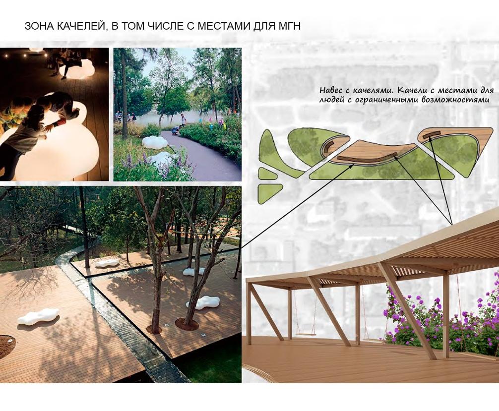 Концепция благоустройства Любашинского сада в Калининском районе
