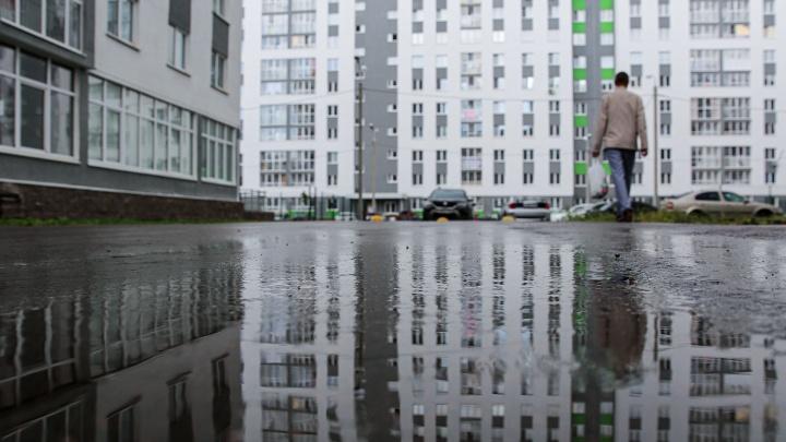 Серое уныние: гуляем по безжизненным спальным кварталам Кузнецовского затона в Уфе