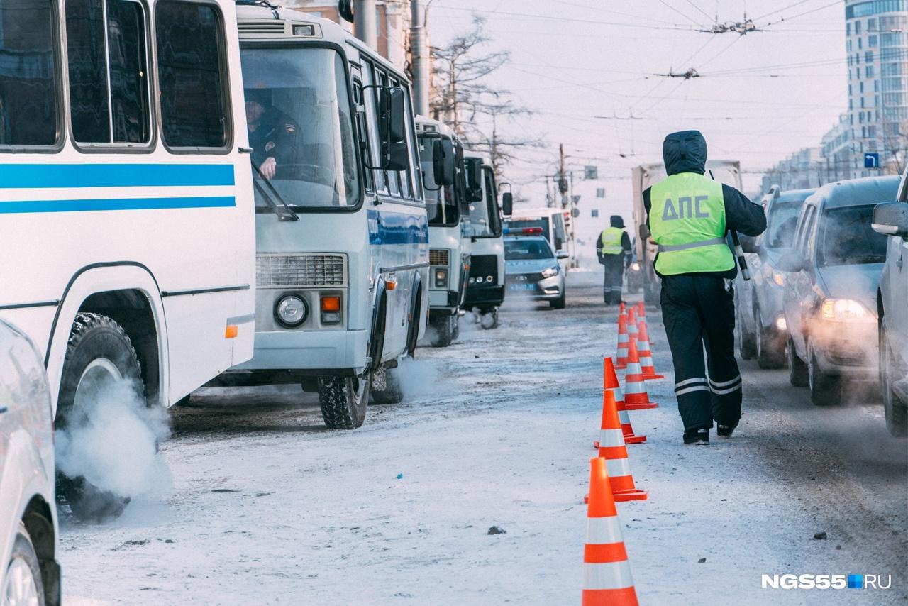 Автобусы были готовы заранее